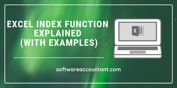 Excel INDEX function explained (with examples)