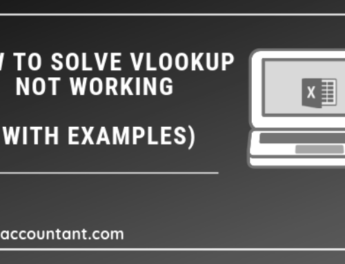 VLOOKUP not working – Solved with Examples