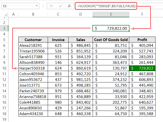 Vlookup Examples