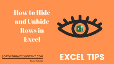 hide and unhide rows