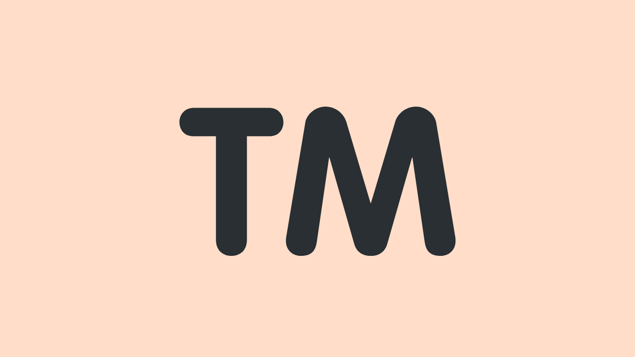 how to type trademark symbol