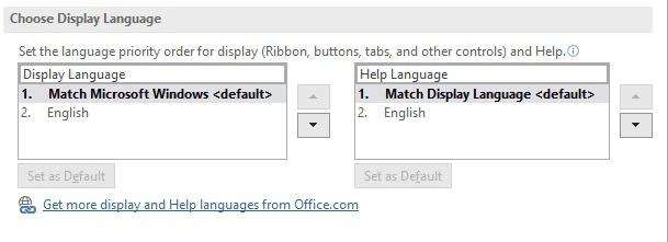 change the display language too