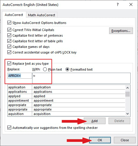 How to type Approximately Equal symbol