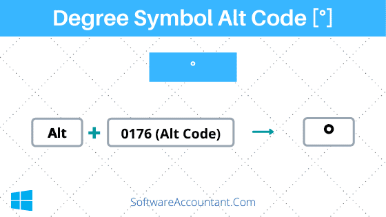 Degree Symbol Alt Code