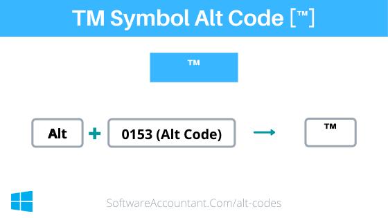 tm symbol alt code