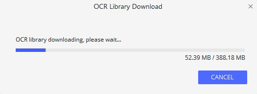 Downloading OCR
