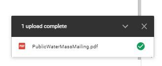 1 File Uploaded
