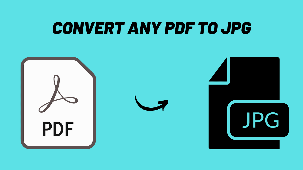 how to convert the pdf to jpg