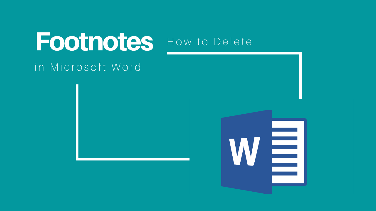 delete footnote in Word