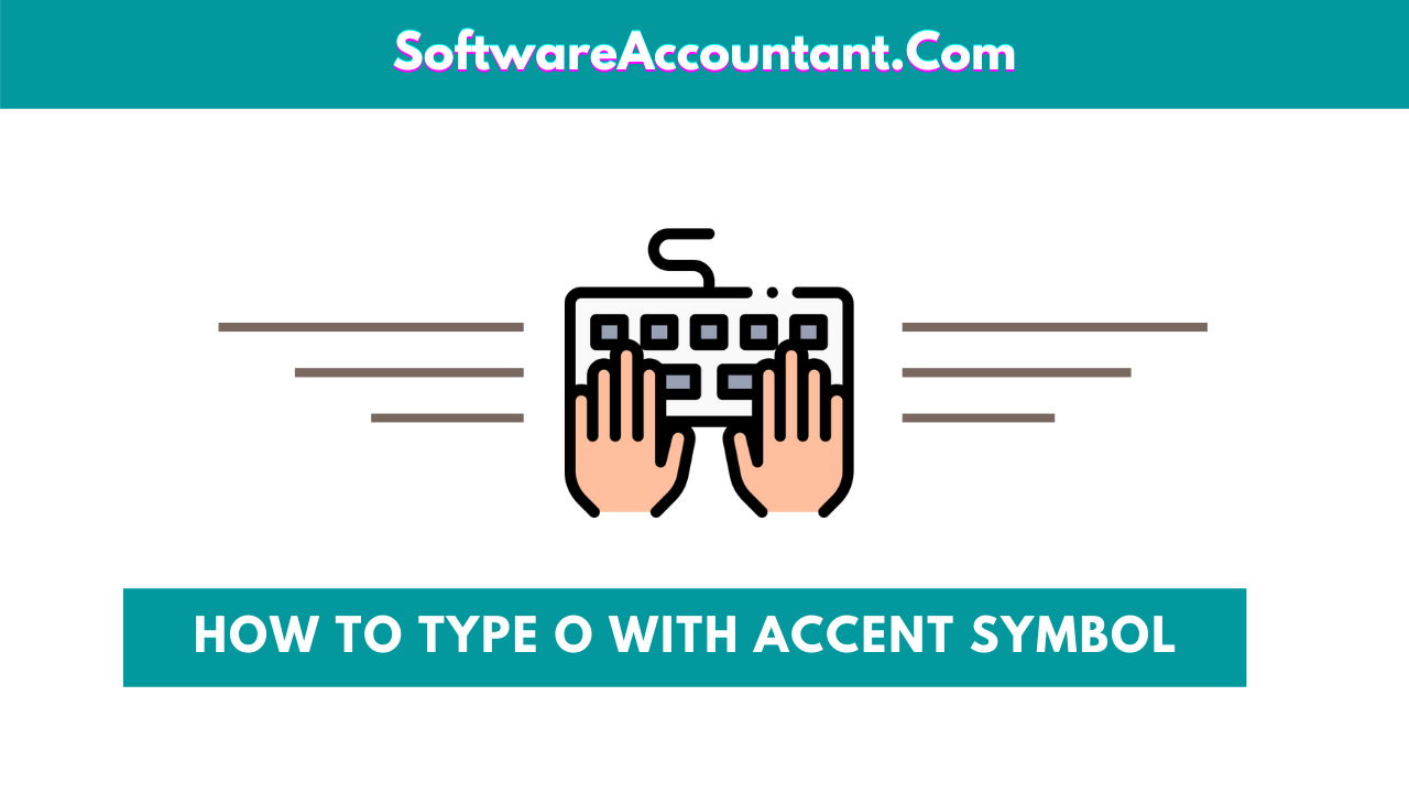 how to type o with accent