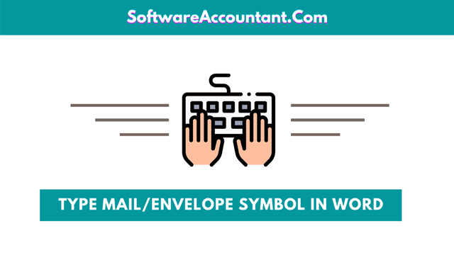 How to type envelope symbol in Word