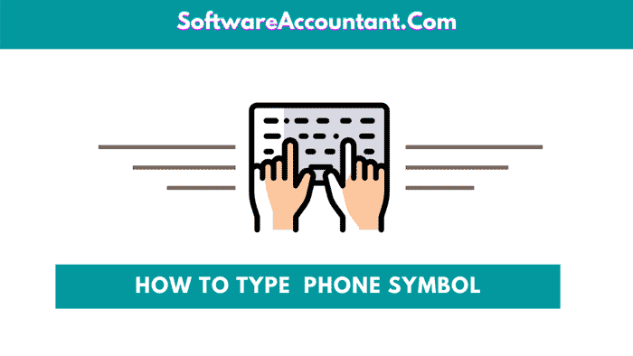 insert phone symbol in Word